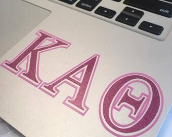 Kappa Alpha Theta Decal Two Color