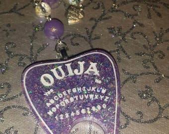 Ouija  Resin Keychain