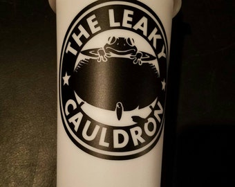 The Leaky Cauldron Travel Cup