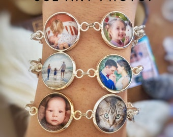 Best Personalized Gifts, Personalized Photo Jewelry, Personalized Gift Items, Picture Charm Bracelet