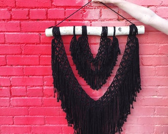 Fleetwood Mac - Large macrame wall hanging