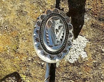 Victorian silver stick pin.