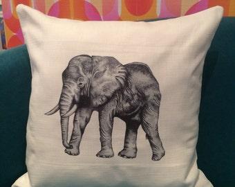 African Elephant Animal Cushion and Inner