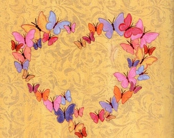 Butterfly Heart Love Limited Edition Print