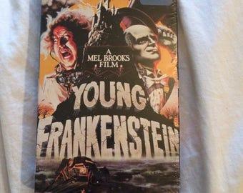 1990s Brand New Young Frankenstein VHS Movie