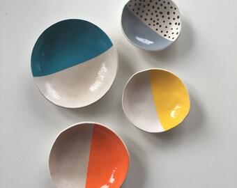 Colour Block andMonochrome Bowls