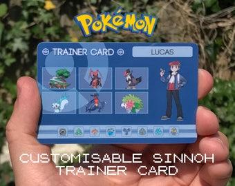 Custom Pokémon Trainer Card [Sinnoh Design]