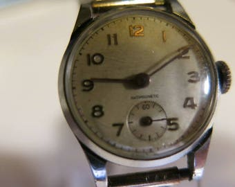 a BANCOR SILVER and MARCASITE ladies watch and band