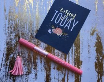Tassel Gel Pen - Pink