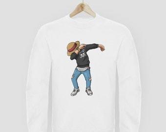Sweater round neck Manga DAB L