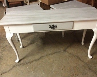 Thomasville desk or sofa table, painted furniture, home decor