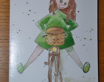 Bike Greetings Card, Happy Birthday,  Any Happy Occasion Greetings or Letter Writing Card,  happyNess