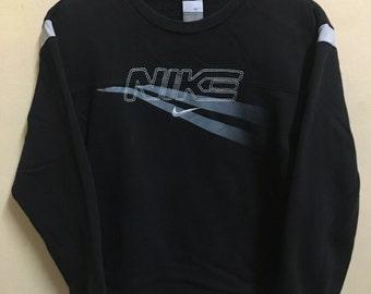 Vintage 90's Nike Just Do it Sport Classic Design Skate Sweat Shirt Sweater Varsity Jacket Size L #A650