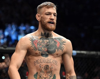Conor Mcgregor Temporary Tattoos