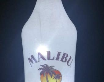 Malibu Rum led bottle light, Malibu Rum lighted bottle