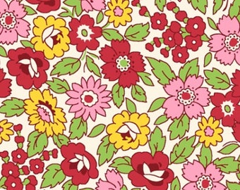 Toybox III by Blue Hill Fabrics (Red Floral)