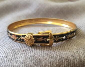 Gold filled buckle bracelet