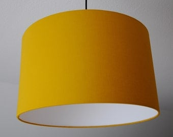 "Lampshade ""yellow curry"" (yellow curry)"