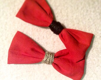 "Bow tie ""Fancy Red"""