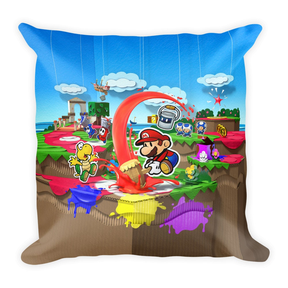 bottle opener paper mario color splash nintendo games gift guide crunchyroll paper mario color. Black Bedroom Furniture Sets. Home Design Ideas