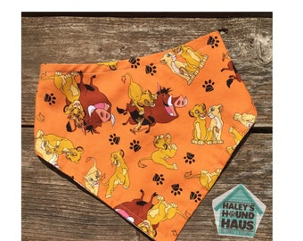 King of the Jungle Dog Bandana