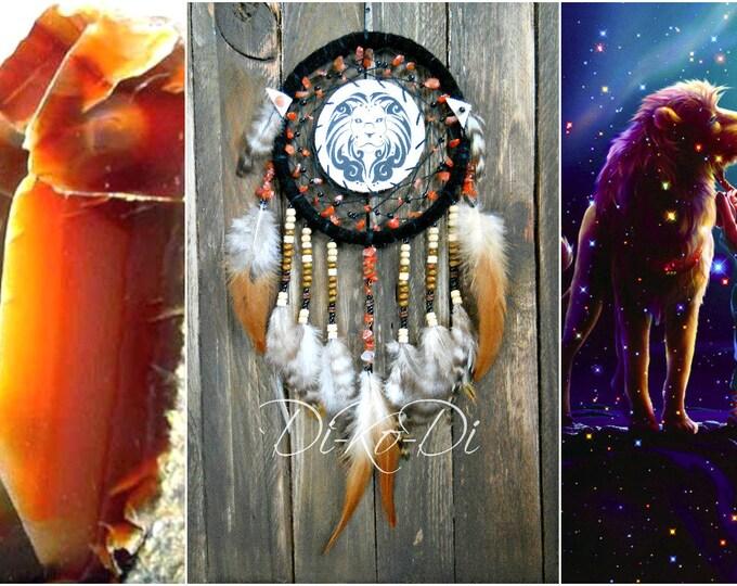 Dreamcatcher zodiac leo, Wall Décor, Dream catcher, large dream catcher, bohemian decor, boho chic, boho present