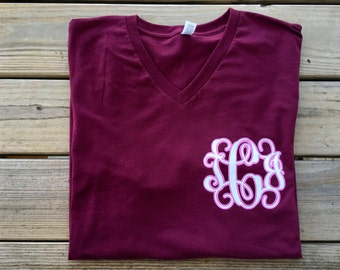 Women's Valentines Monogrammed shirt