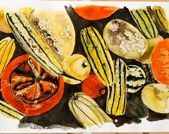 Squash Painting (print)