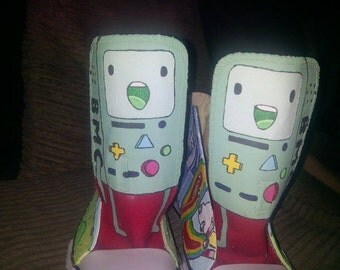 SALE! Washable Adventure Time Shoes (UK Size 7)
