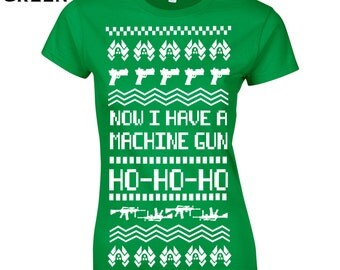 Ugly sweater gun | Etsy