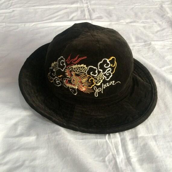 Vintage Sukajan Toyo Enterprise hats cap jacket