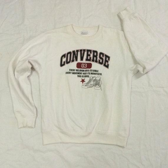 Vintage Converse sweatshirt big logo spellout