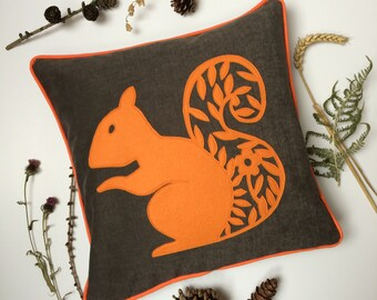 Red Squirrel cushion