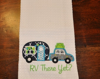RV There Yet? Camper Applique