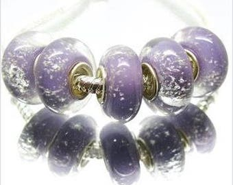 MURANO Lampwork charm Beads fit European Bracelet Chain