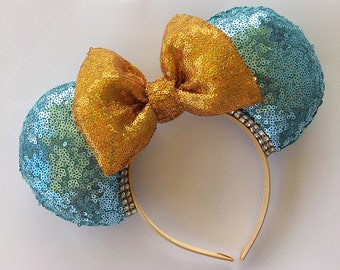 Princess Jasmine Inspired Mickey Ears