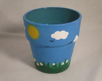 Miniature garden pot