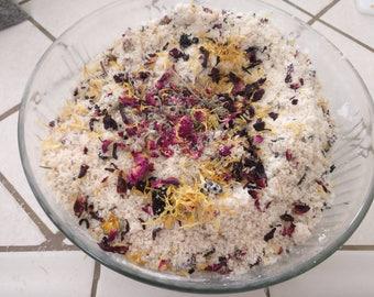 the bath soak, floral detox