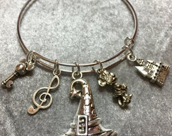 Mickey Disney Charm Bracelet