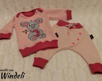 Baby newborn set girls