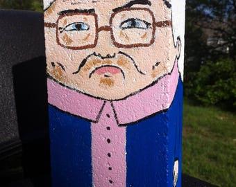 "Estelle Getty ""Brick-a-Brax"" Hand Painted Brick Statue"