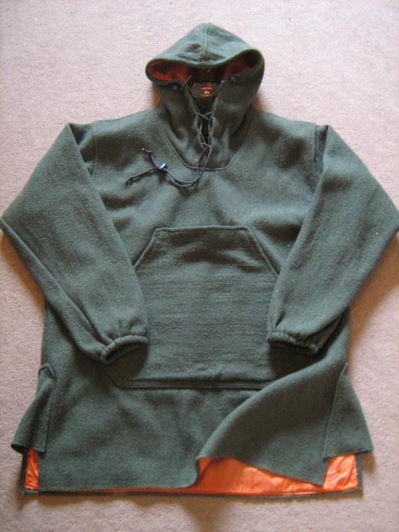 Hand Made 70/30 Wool Bushcraft  Blanket Shirt  XL-2XL