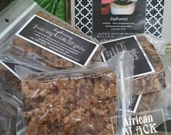 Imported African Black Soap