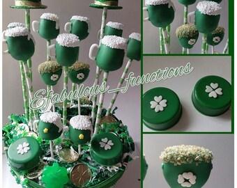 St Patricks Day Cake Pops, St Pattys Day