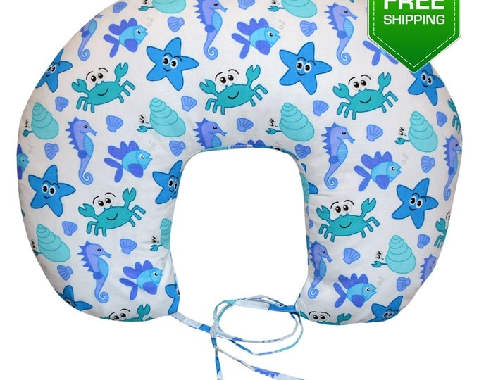 Nursing Pillow Sea, Breastfeeding Pillow, back support pillow, new moms gift, breastfeeding, new baby gift, baby Accessories, newborn