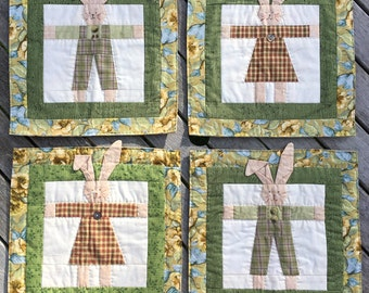 Quilted Wall Hangings – Nursery, Child's or Teenager's Room