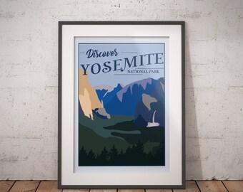 Yosemite | National Park Series | Instant Download