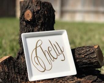 Jewelry Dish personalized, Jewelry holder, jewelry, dish, personalized, gift jewelry, Jewelry Dish Holder, gift, birthday gift