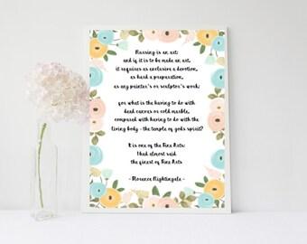 Nursing - Florence Nightingale