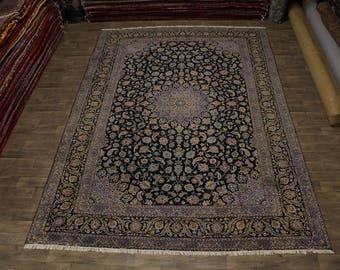 11X17 Amazing S Antique Palace Navy Kashan Persian Rug Oriental Carpet 11'5X16'7